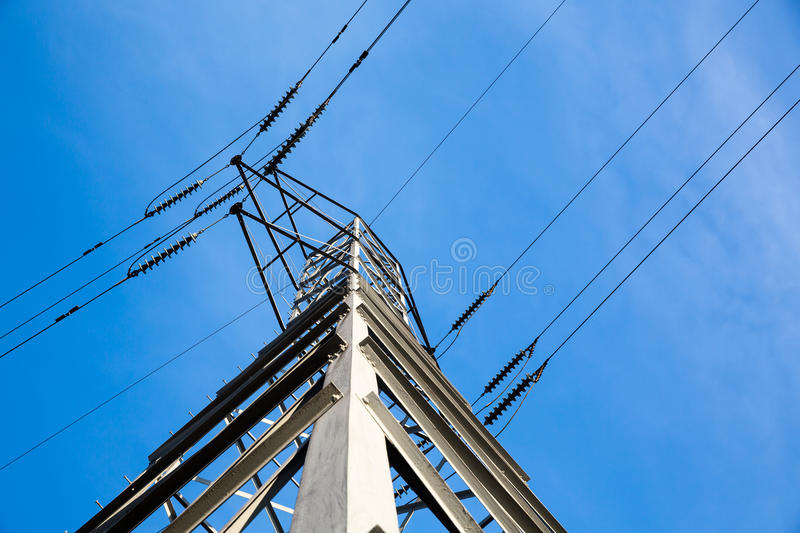 Download Electric Power Tower And Lines Stock Photo - Image: 28746504