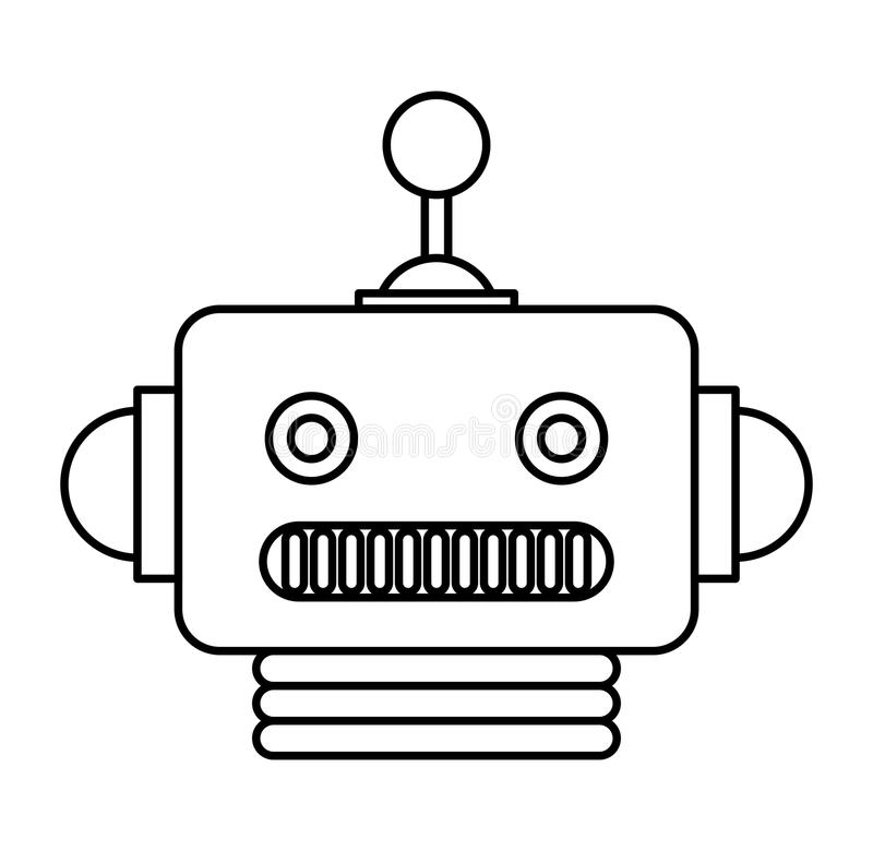 Download Electric Robot Avatar Character Stock Vector