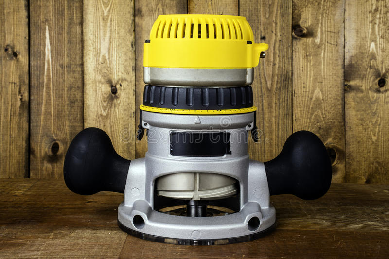 Electric Router stock image