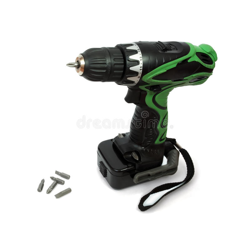 Free Electric Screwdriver Royalty Free Stock Photos - 11515908