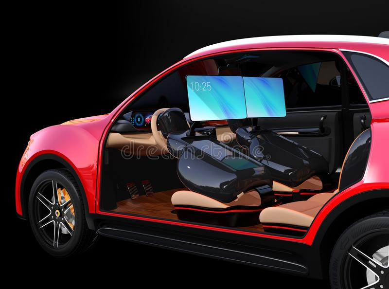 Electric self driving suv car interior design stock illustration download electric self driving suv car interior design stock illustration illustration of auto solutioingenieria Choice Image