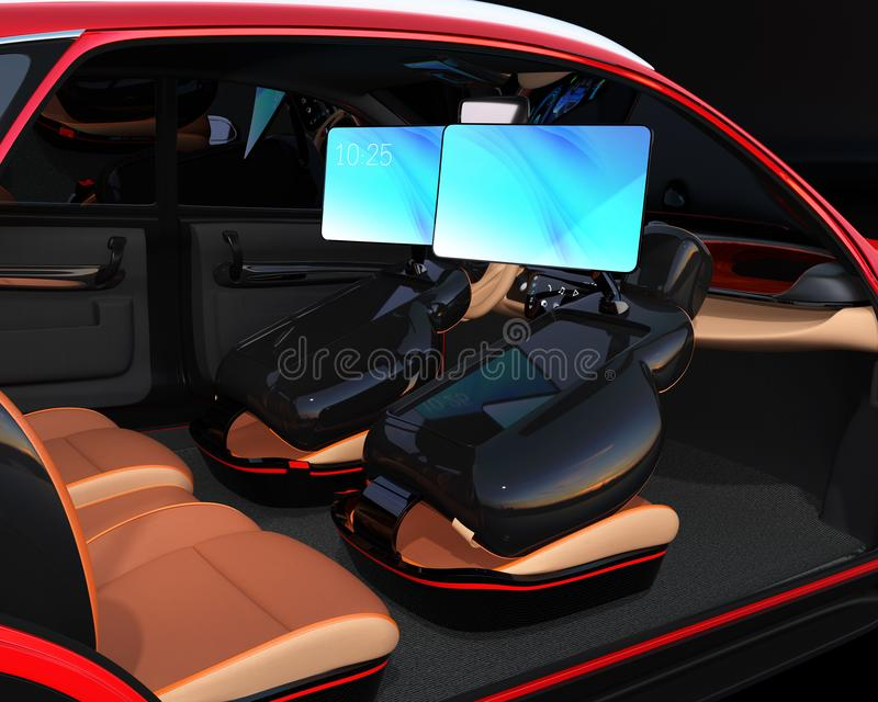Electric self driving suv car interior design stock illustration download electric self driving suv car interior design stock illustration illustration of driverless solutioingenieria Gallery