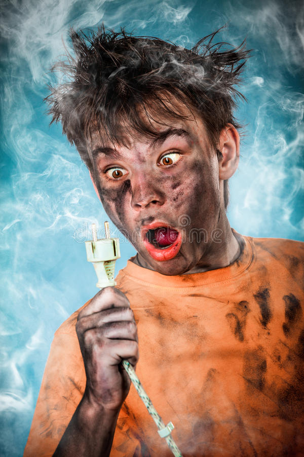 Download Electric Shock stock image. Image of male, energy, electricity - 28987795