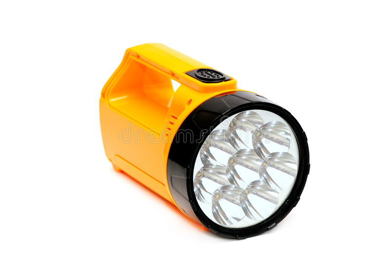 Electric small lamp stock photo