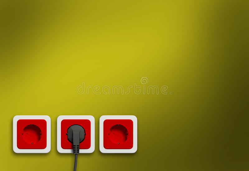 Download Electric socket stock illustration. Image of interior - 9375881