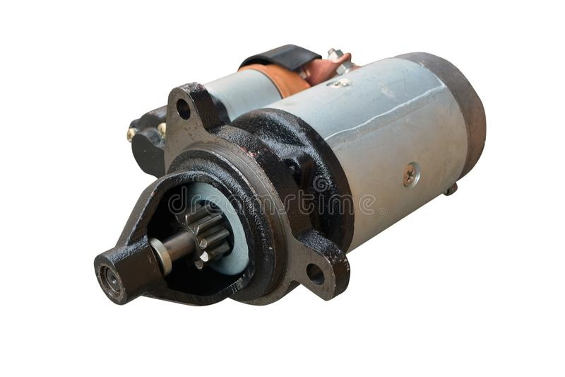 Starter for a car with stock image  Image of motor, auto