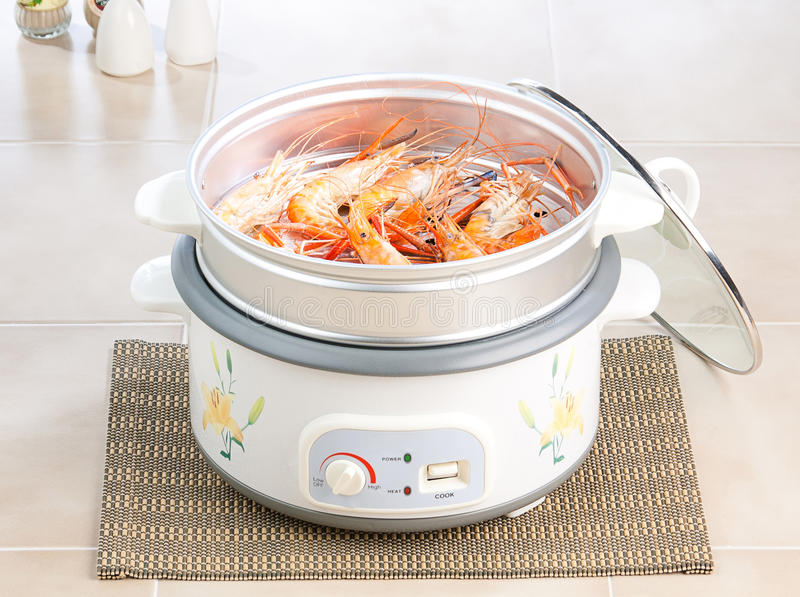Download Electric steaming pot stock image. Image of rice, appliance - 20791793