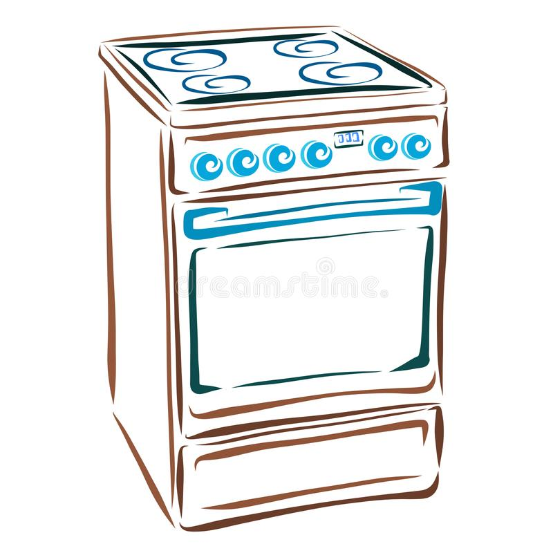 Kitchen Appliances Stock Vector Illustration Of Cover