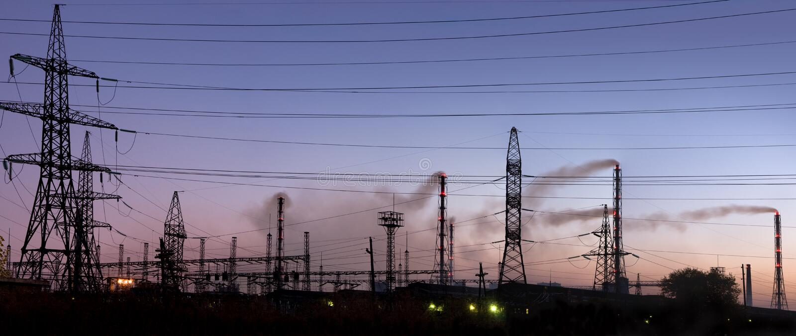 Download Electric Substation Stock Photography - Image: 11931632