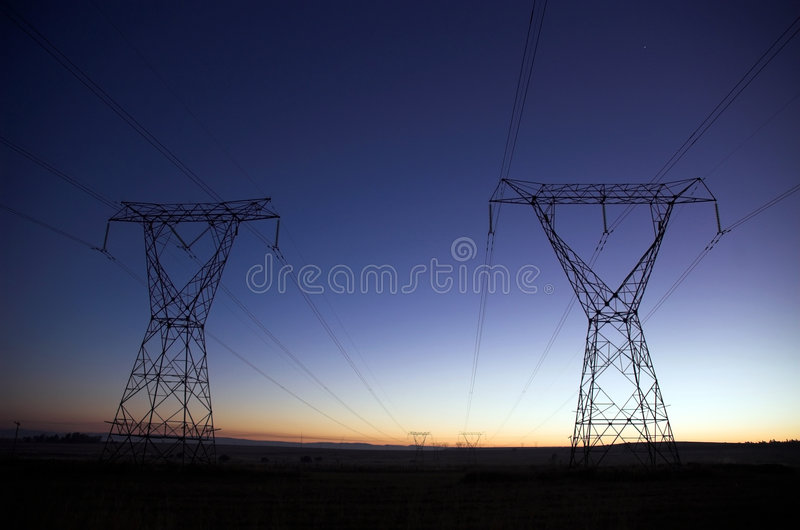 Download Electric Sunrise Royalty Free Stock Photos - Image: 775548