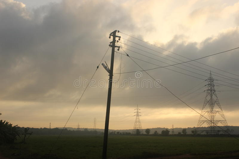 Electric supply royalty free stock photo