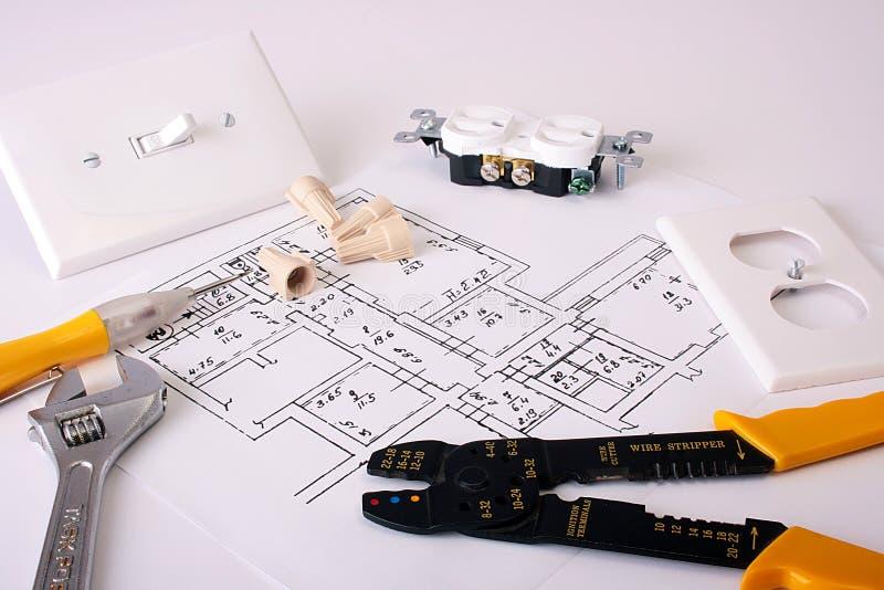 Electric tools stock photo