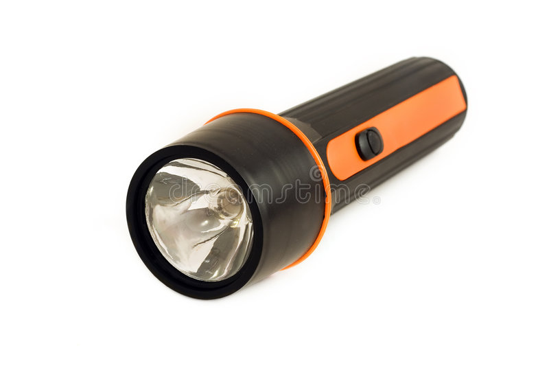 Electric torch royalty free stock photos