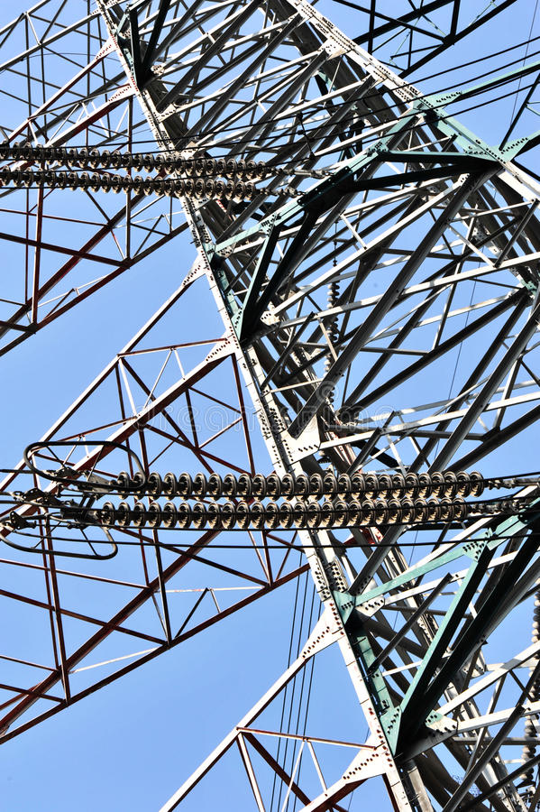 Download Electric transfer tower stock photo. Image of generator - 23883244