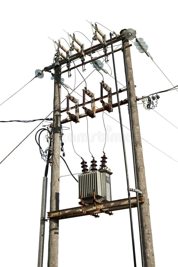 Download Electric transformer stock image. Image of electric, current - 23524497
