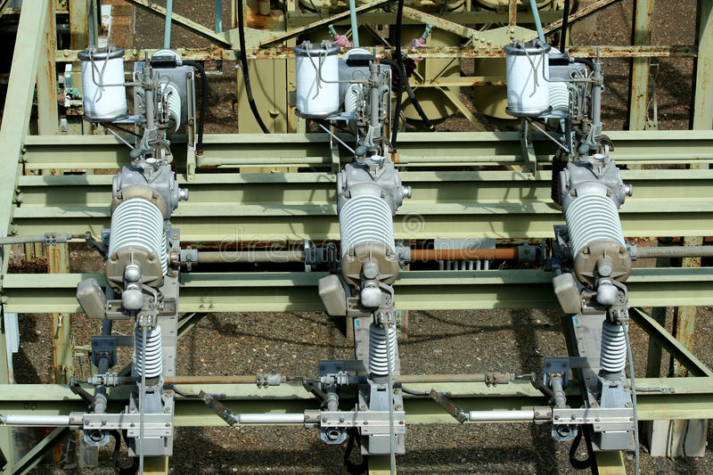 Download Electric Transformer Substation Stock Photo - Image: 25049050