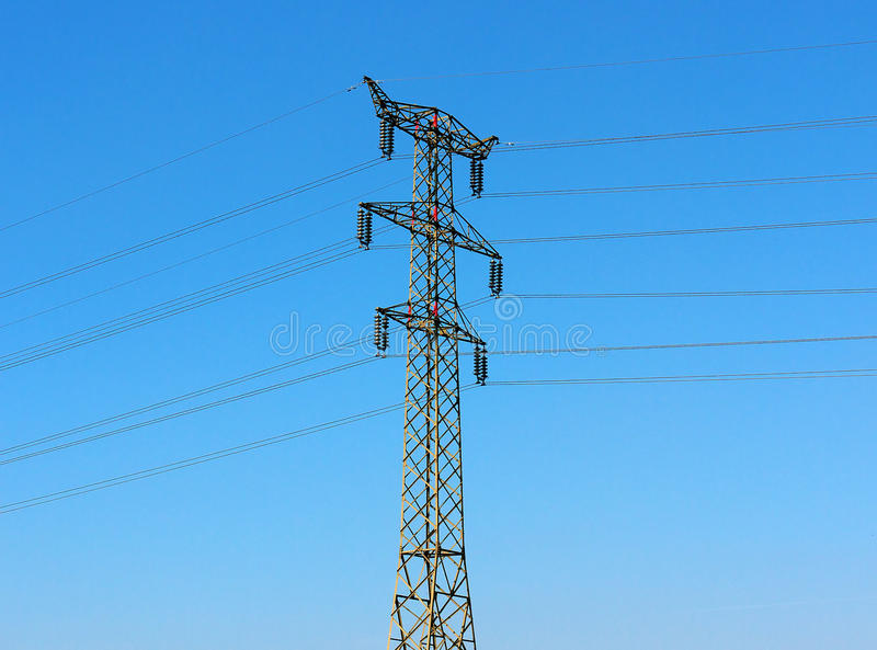 Download Electric Transmission Line Stock Photo - Image: 16537300