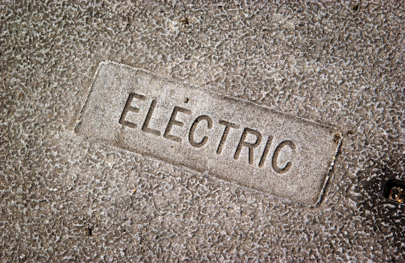 Download Electric utility cover stock image. Image of iron, industrial - 22654803