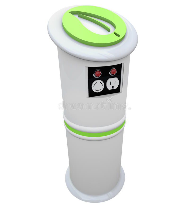 Download Electric Vehicle Charging Station Stock Images - Image: 16343784
