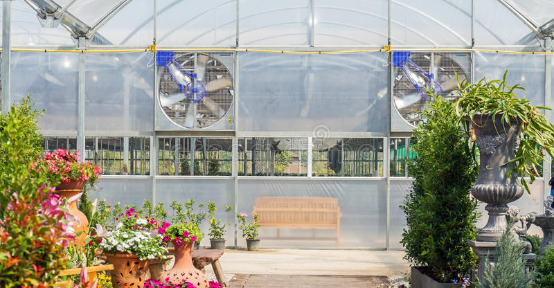 Electric ventilators royalty free stock photography