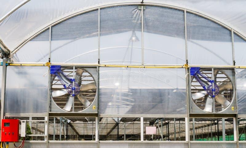 Electric ventilators stock image