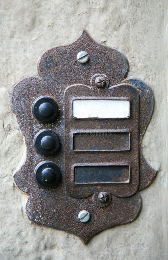 Attractive Download Electric Vintage Doorbell Stock Image. Image Of Metal   19538063