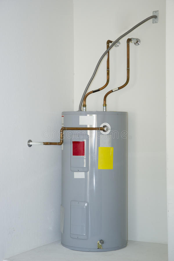 Electric Water Heater stock images