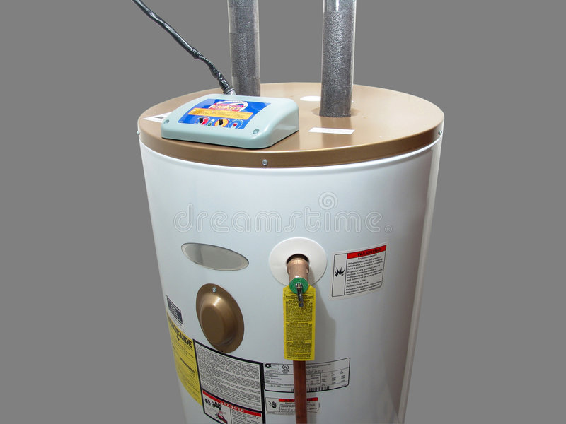 Electric Water Heater royalty free stock image
