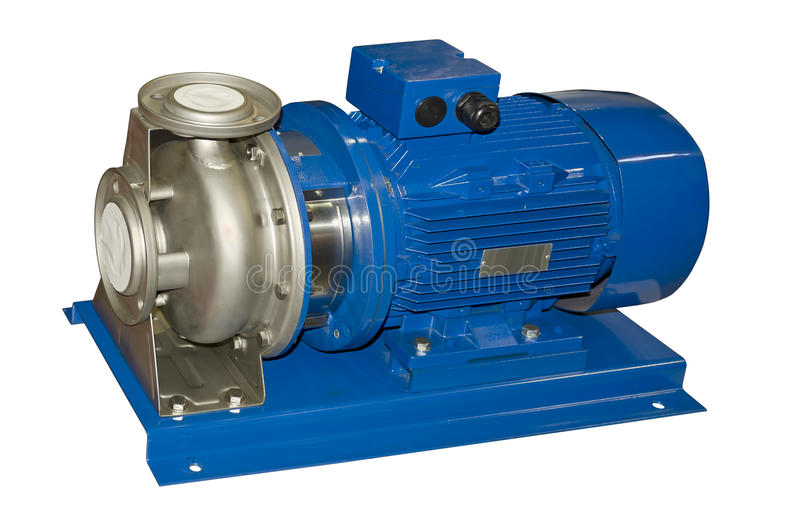 Electric water pump stock images
