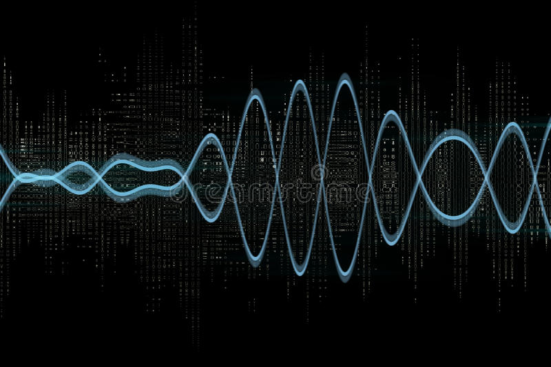 Download Electric Waves Royalty Free Stock Photos - Image: 23675498