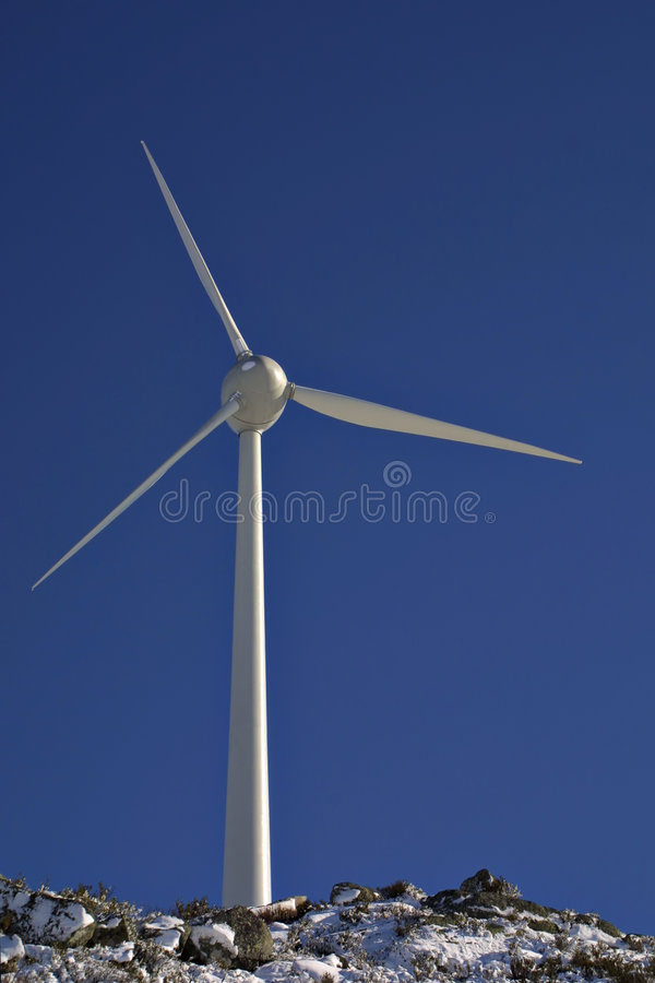 Electric Windmill royalty free stock images