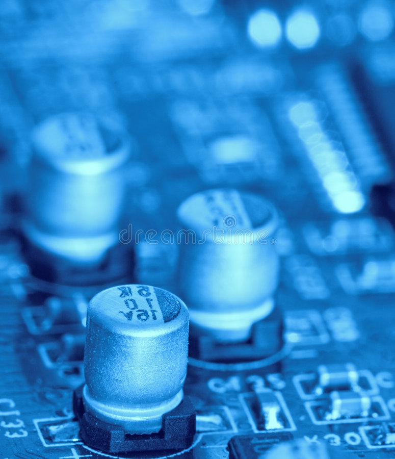 Electrical circuit. A close up of Electrical circuit royalty free stock images