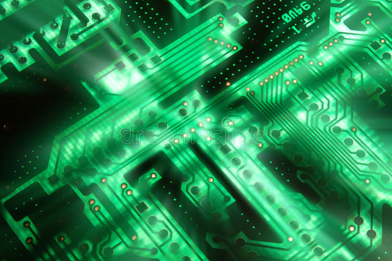 Electrical circuit stock photos