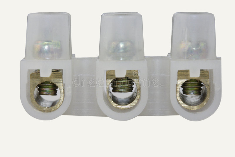Download Electrical Connectors Terminal Blocks Stock Photo - Image: 5651640