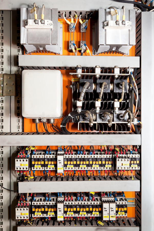 Free Electrical Control Panel Royalty Free Stock Images - 19730639