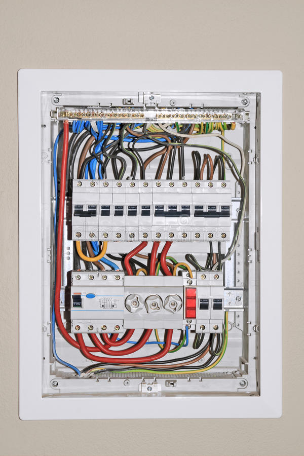 Free Electrical Distribution Board Royalty Free Stock Image - 36841596