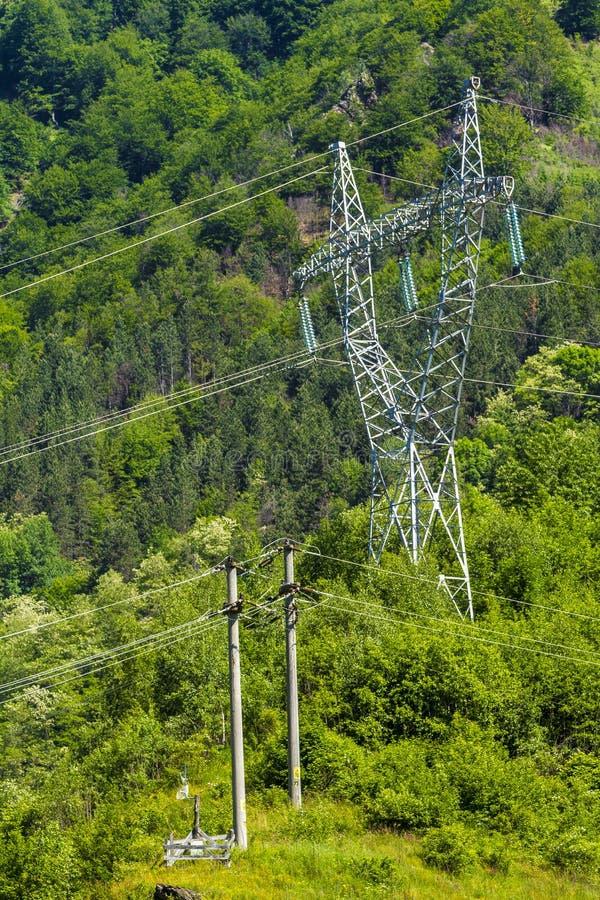 Electrical energy stock photo