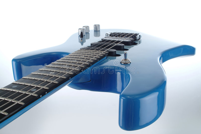 Electrical guitar royalty free stock images