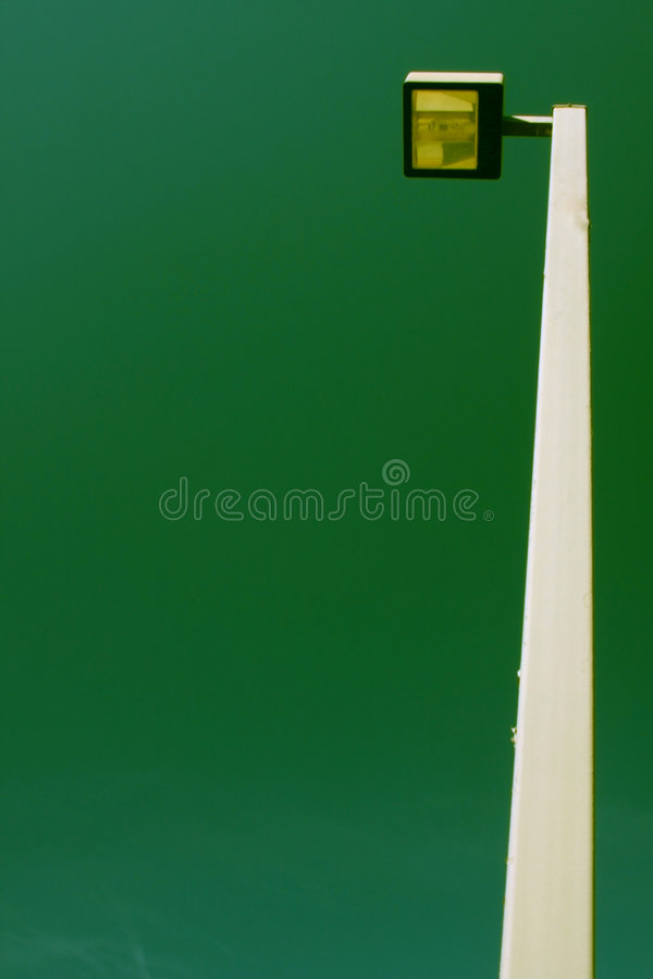 Electrical light pole royalty free stock photography