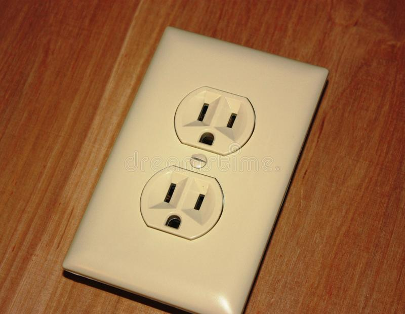 Electrical outlet royalty free stock images