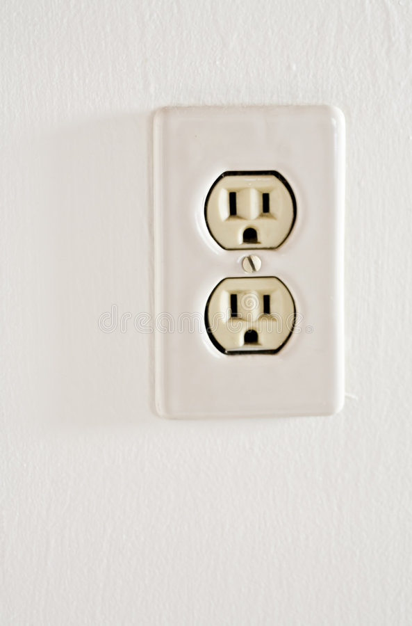 Download Electrical Outlet stock image. Image of faceplate, energy - 3651037