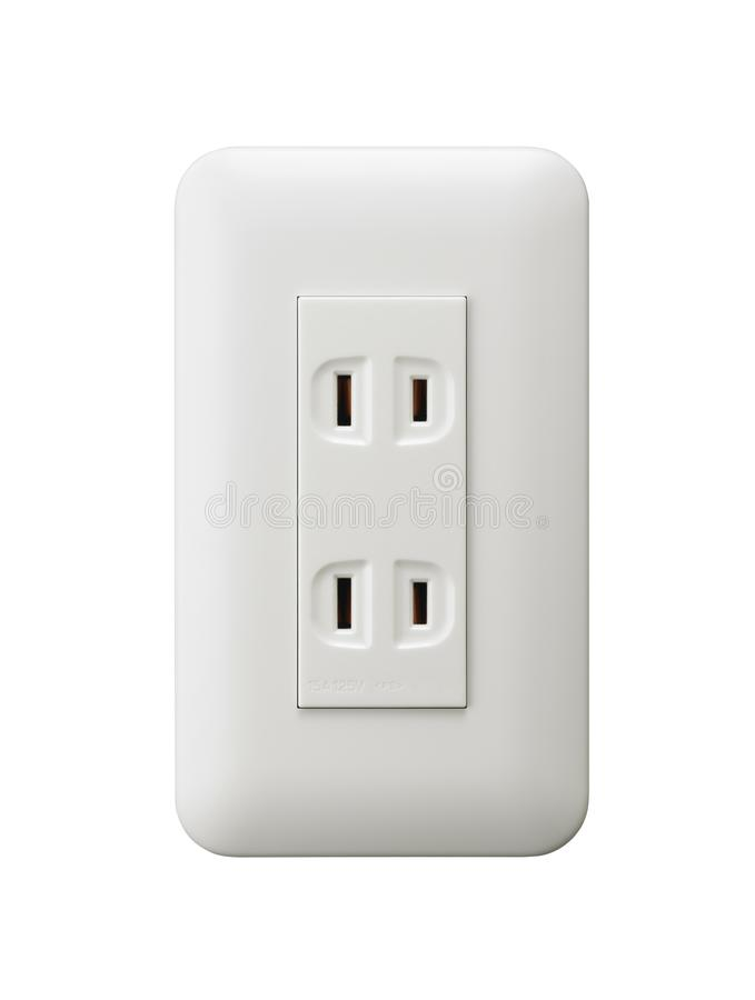 Electrical Outlet In The Japan Stock Illustration - Illustration of ...