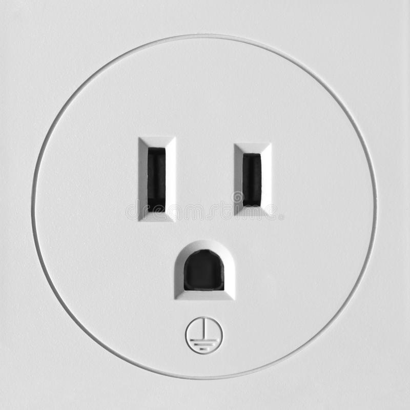 Electrical Outlet North America Stock Image - Image of power ...