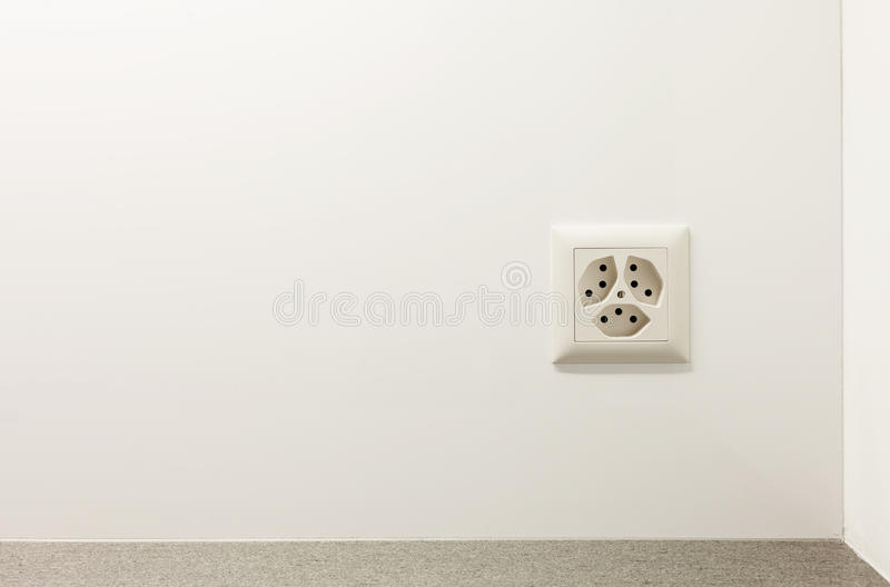 Download Electrical Outlet On A Wall Stock Image - Image: 29825441