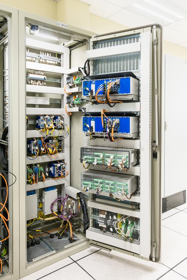Electrical Panel Or Equipment Switch Of Electrical Room / Switch ...