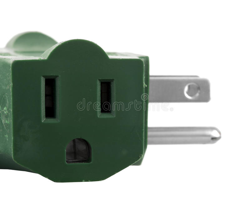 Download Electrical Plug stock image. Image of power, holes, macro - 10607581