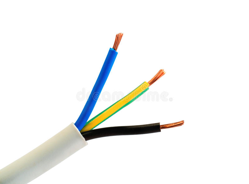 Electrical Power Cable Wires stock images