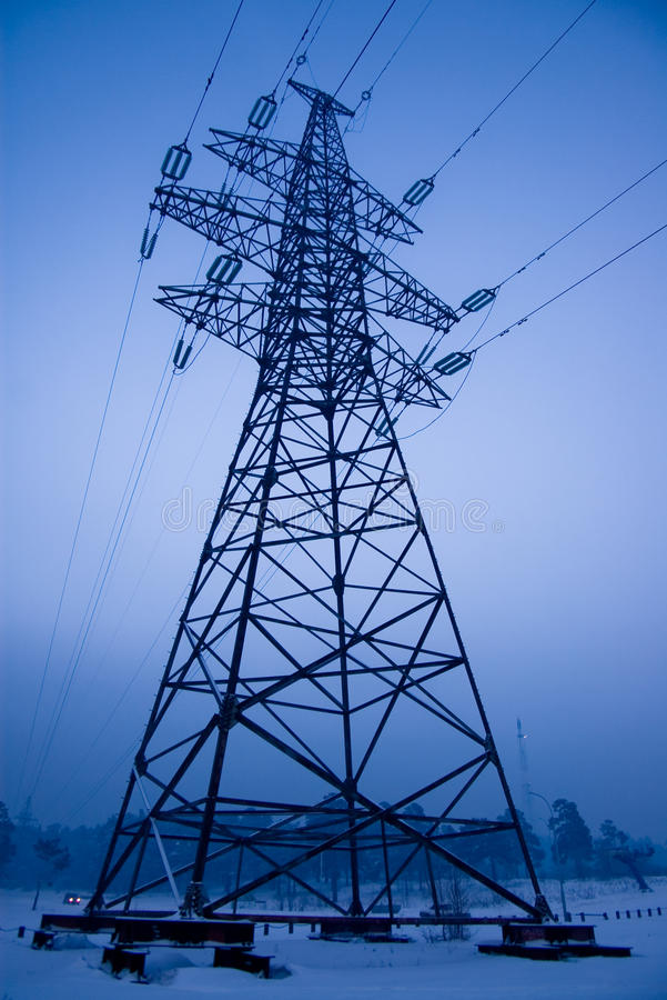 Download Electrical Power Line Tower Stock Photo - Image: 11648428