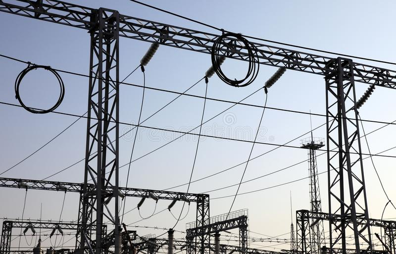 Download Electrical Power Station Royalty Free Stock Photo - Image: 12492315