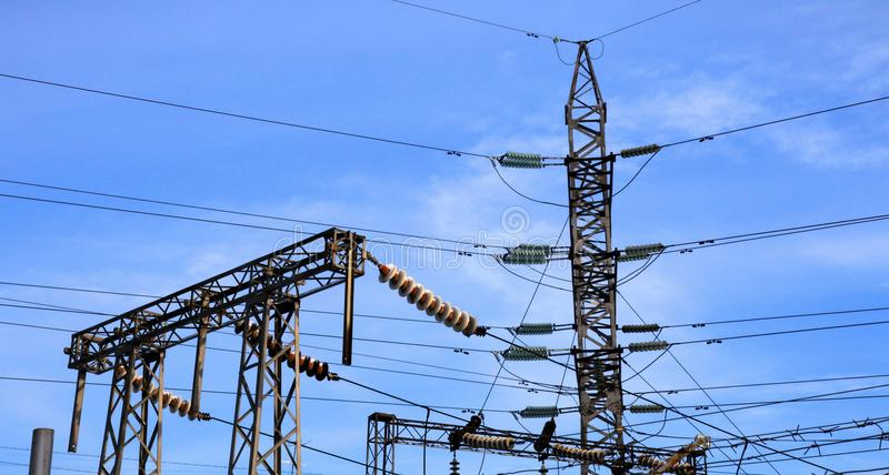 Download Electrical power station stock photo. Image of full, industry - 12744262